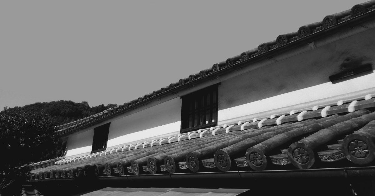 丸米醤油の蔵の外観
